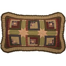 VHC Brands Tea Cabin Sham - King