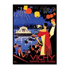 "Vichy Comite des Fetes' Canvas Art - 24"" x 32"""