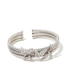 """Victoria Wieck 1.95ctw Absolute™ """"Butterfly"""" Bangle"""