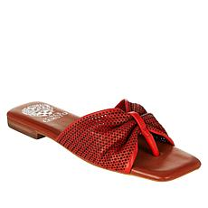 Vince Camuto Amahlee Leather Perforated Thong Sandal