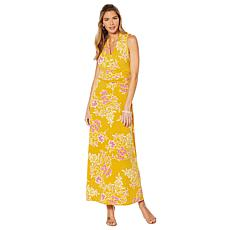 Vince Camuto Floral Getaway V-Neck Dress