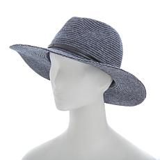 Vince Camuto Heather Woven Panama Wool Blend Hat