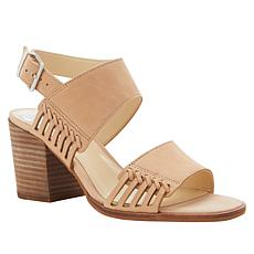 Vince Camuto Karmelo Leather Block Heel Sandal