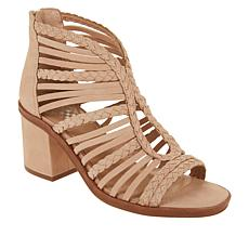Vince Camuto Kestal Leather Heeled Gladiator Sandal