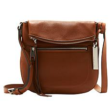 Vince Camuto Tala Pebbled Leather Crossbody
