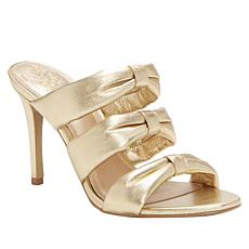 Vince Camuto Thendie 3-Strap Leather Dress Sandal