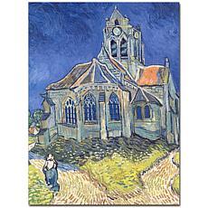 Vincent van Gogh 'Church at Auvers-sur-Oise, 1890' Art