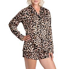 Wallflower Leo Leopard with Black Lining Lounge Set