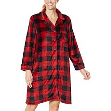 Warm & Cozy Style and Comfort Plush Sleeping Gown