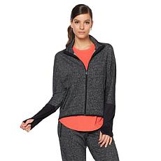 Warrior by Danica Patrick Static Terry Hi-Low Jacket