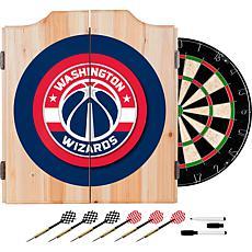 Washington Wizards Beveled Wood Dart Cabinet