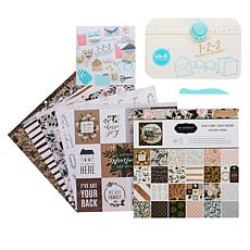 We R Memory Keepers 123 Punchboard and Card Stock
