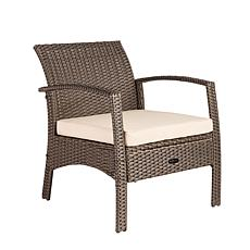 Well Traveled Living Bondi Wicker Outdoor Armchair