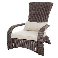 Well Traveled Living Deluxe Coconino Wicker Chair