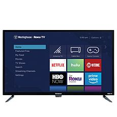 "Westinghouse 32"" Smart HDTV w/Built-In Roku, 2-Year Warranty & Voucher"