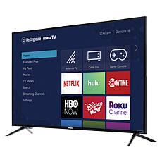 "Westinghouse 43"" 4K UHD Smart TV with Built-In Roku & 2-Year Warranty"