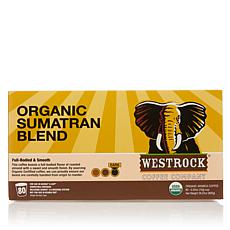 Westrock® Coffee Company 80ct Pods - Organic Sumatran Blend Auto-Ship®