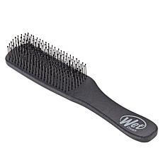 Wet Brush Men's Black Leather Pattern Detangler Brush