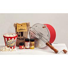 Whirley Pop 6-piece Old Fashioned Popcorn Set