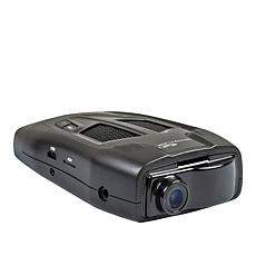 Whistler Multi-Function Radar Detector w/Fully Integrated Dash Camera