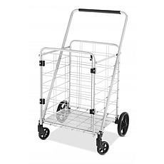Whitmor 63188585BB Heavy Utility Cart with Door