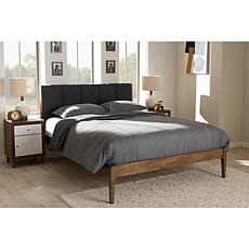 Wholesale Interiors Ember Fabric and Wood Full-Size Platform Bed