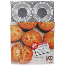 "Wilton Jumbo Muffin Pan - 6 Cavity 4"" x 2"""