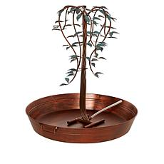 Wind and Weather Water Fall Tree Fountain with Power Cord
