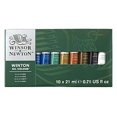 WINSOR  AND  NEWTON Winton Oil Colour Basic Set each
