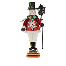 "Winter Lane 22"" Illuminated Indoor/Outdoor Snowman"