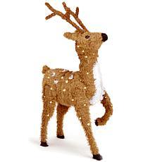 Winter Lane 3' Prancing Reindeer w/Lights