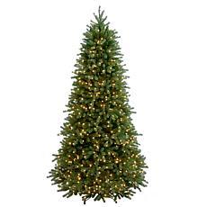 Winter Lane 7-1/2' Jersey Fraser Slim Tree w/Lights