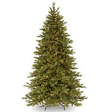 "Winter Lane 7-1/2' Yukon ""Feel-Real"" Fir Tree w/Lights"