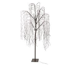 Winter Lane 8' LED Willow Tree with 6-Hour Timer