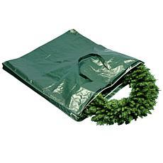 Winter Lane Heavy-Duty Wreath and Garland Storage Bag