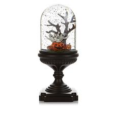 Winter Lane Musical Lighted Snowglobe - Halloween