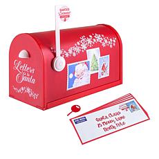 Winter Lane Santa's Enchanted Mailbox