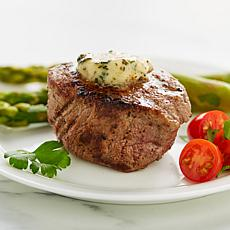 Wolfgang Puck (10) 5 oz. Filet Mignon Steaks & Garlic Butter