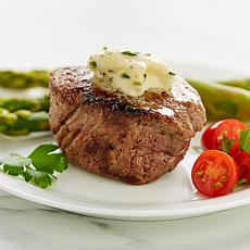 Wolfgang Puck (10) 5 oz Filet Mignon Steaks & Horseradish Chive Butter
