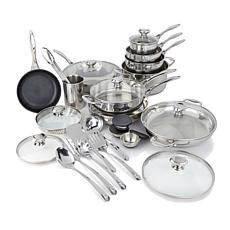 Wolfgang Puck 27-piece Stainless Steel Cookware Set