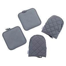 Wolfgang Puck 4-piece Mitt and Pot Holder Set