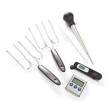 Wolfgang Puck 5-piece Turkey Prep Set