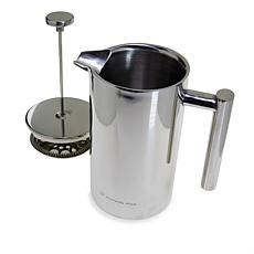 Wolfgang Puck 6-Cup Insulated Stainless Steel French Press