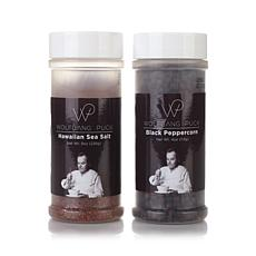 Wolfgang Puck Sea Salt & Black Peppercorn 2-pack