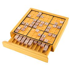 Wood Sudoku Board Game Set- Complete Set With Number Tiles by Hey! ...