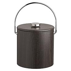 Woodcraft 3qt Vinyl Ice Bucket with Lid and Bale Handle