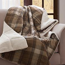 Woolrich Lumberjack Softspun Down Alternative Throw