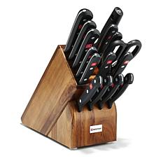 Wustof 16-piece Gourmet Knife Block Set - Acacia