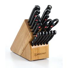 Wustof 18-piece Gourmet Promo Knife Block Set