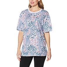 WVVY Printed Oversized Pocket T-Shirt